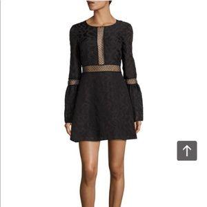 Zac Posen bell sleeve lace dress size 4